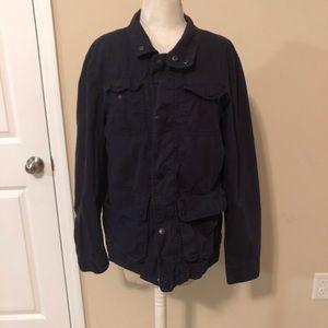 Men's blue lightweight jacket